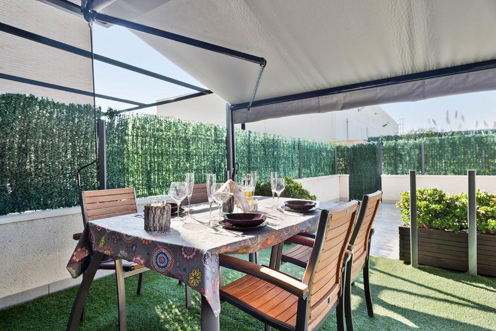 Apartamento con encanto y una gran terraza