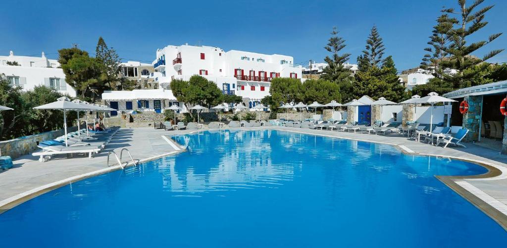 Kamari Hotel Platis Yialos Mykonos, Greece