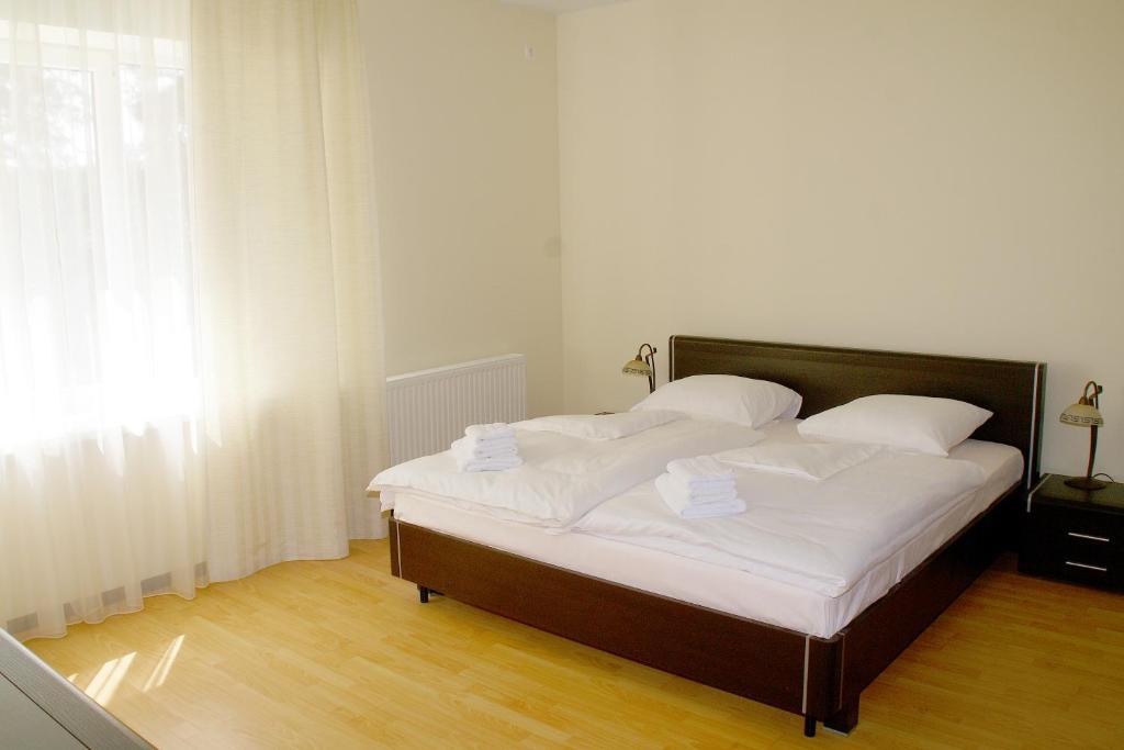 Кровать или кровати в номере Апарт-отель Мечта