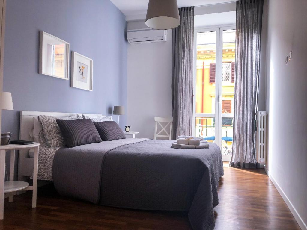 Letto o letti in una camera di Central Holiday House in Rome