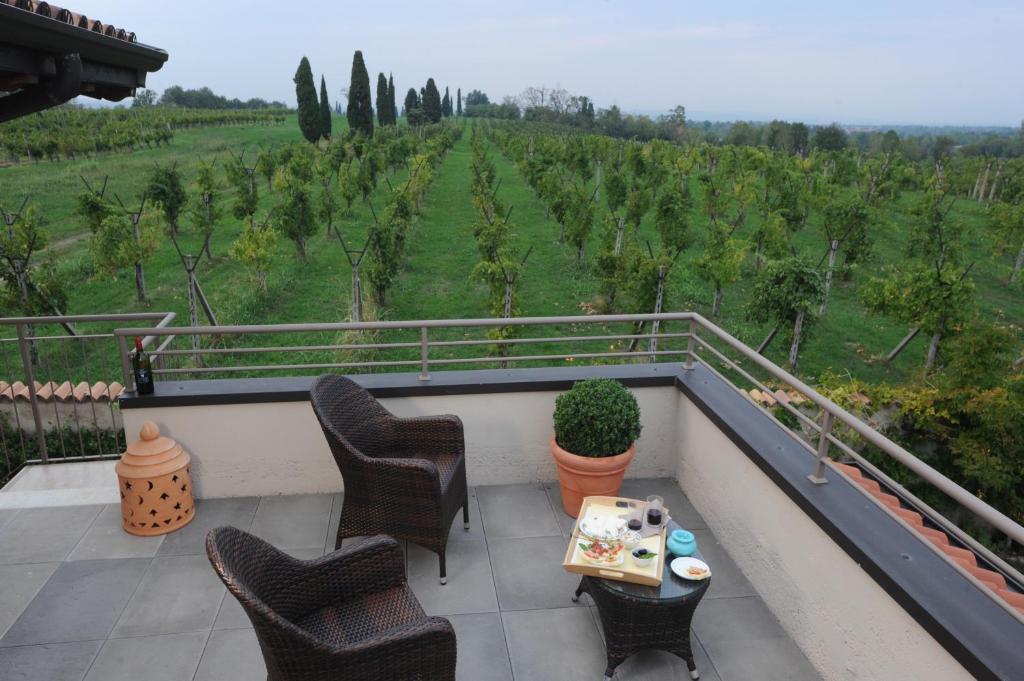 Balkón nebo terasa v ubytování Monte Maino Bed & Breakfast