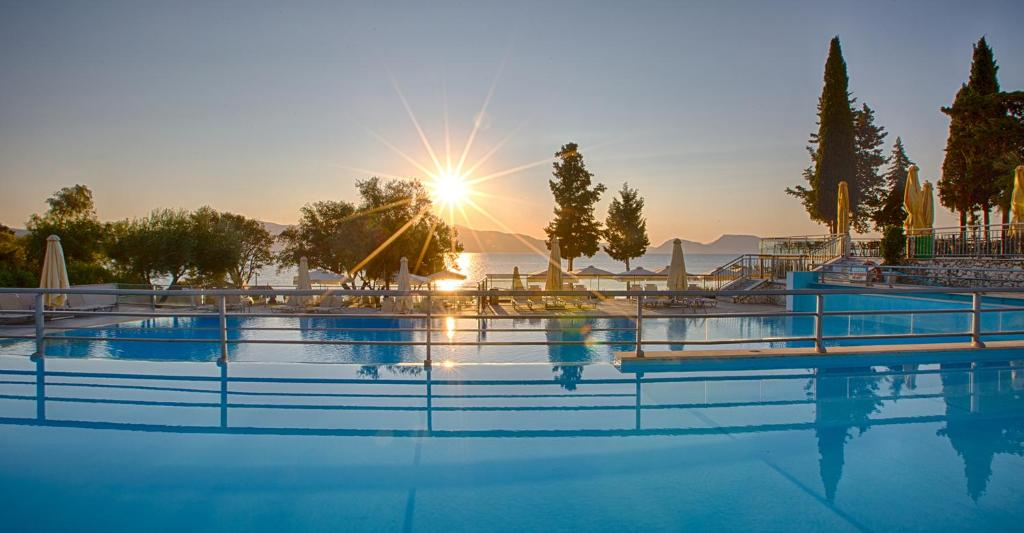The swimming pool at or near Porto Galini Seaside Resort & Spa