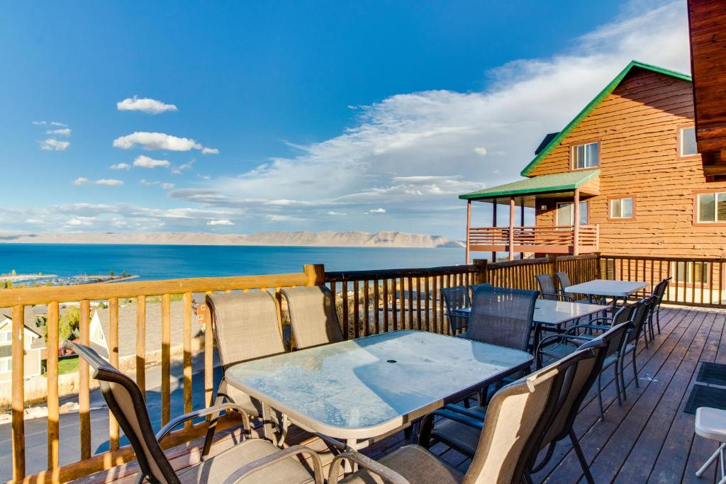 Cabin Overlooking The Harbor