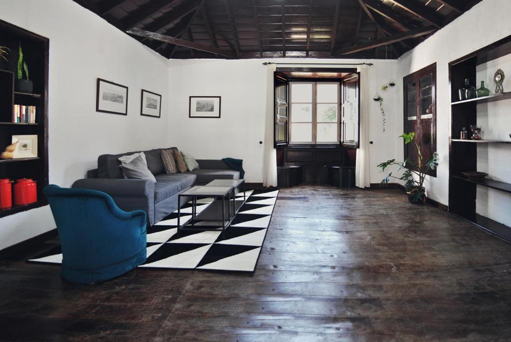 Zona de estar de Casa Rural El Palmar