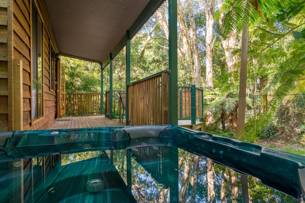 The swimming pool at or near Wanderers Retreat