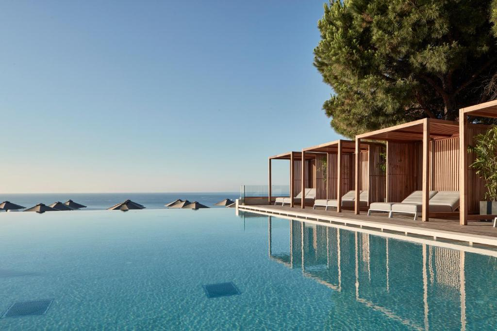 The swimming pool at or close to Esperos Village Blue & Spa - Adults Only