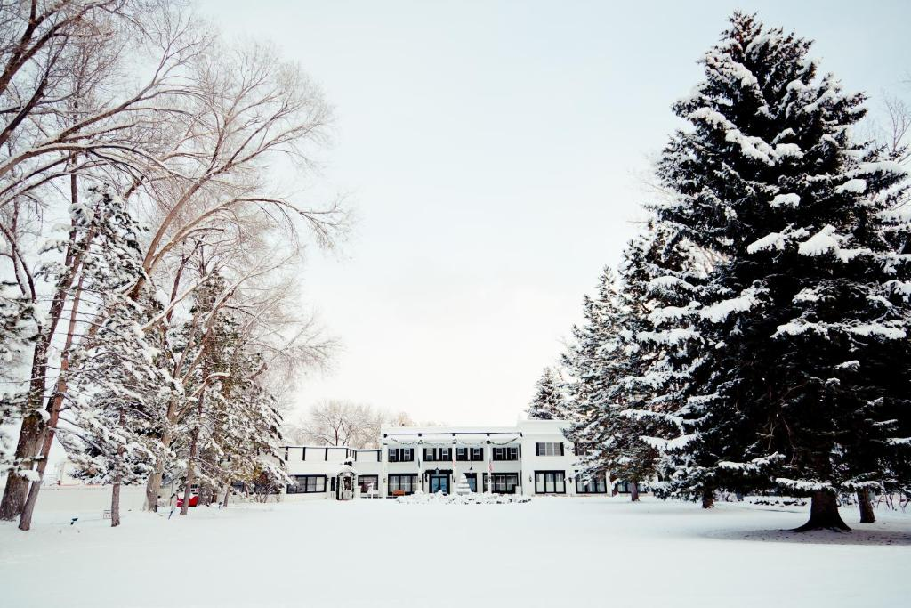 Homestead Resort during the winter