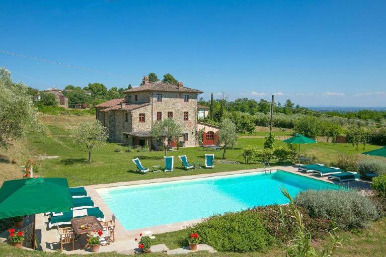 Ponte a Moriano Villa Sleeps 12 Pool Air Con WiFi