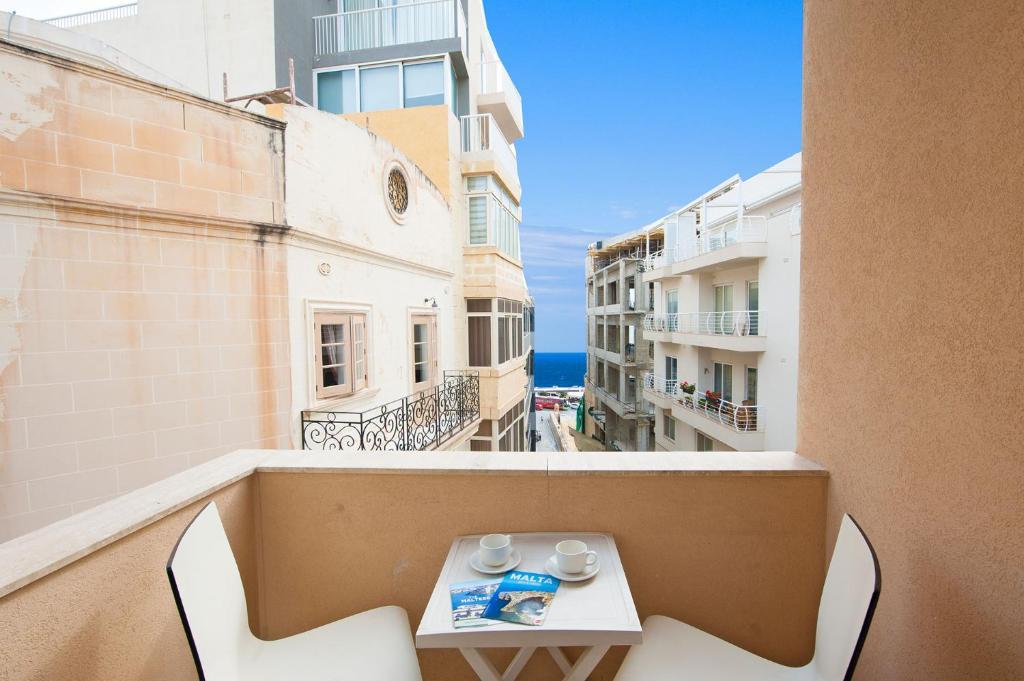 Балкон или терраса в Alborada Apart Hotel