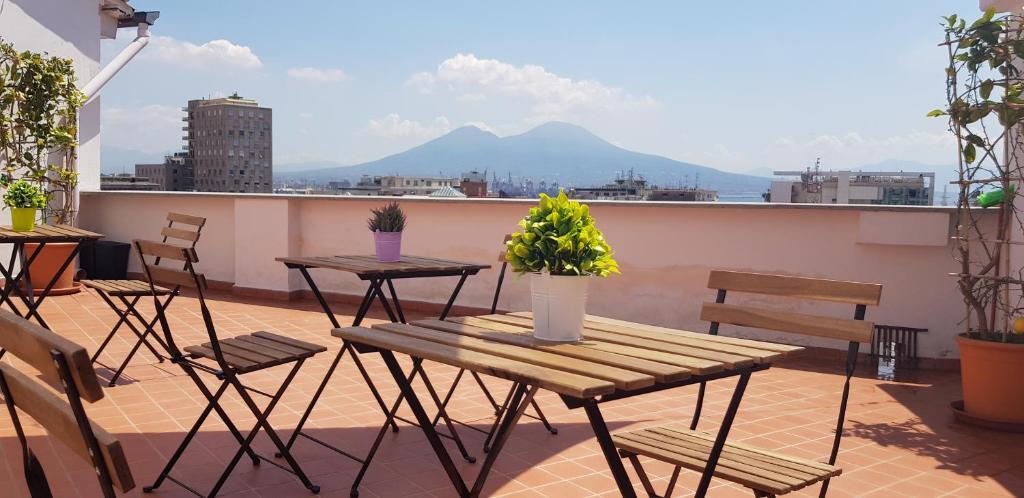 """Balcone o terrazza di """"Panoramic Terrazza - Napoli"""""""