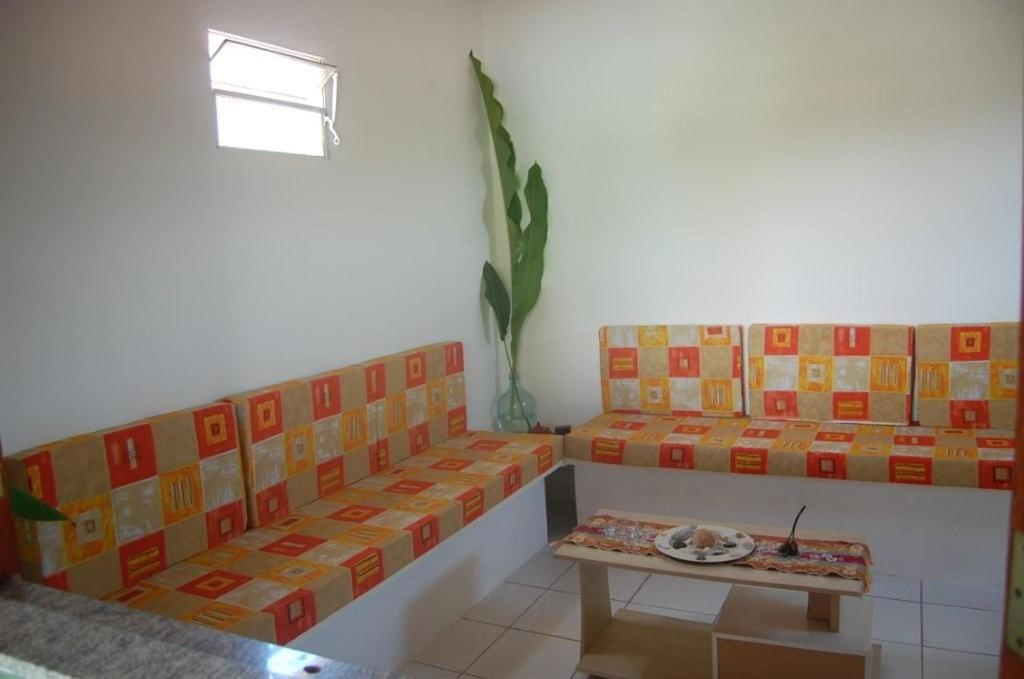 A seating area at Haus São Francisco 2