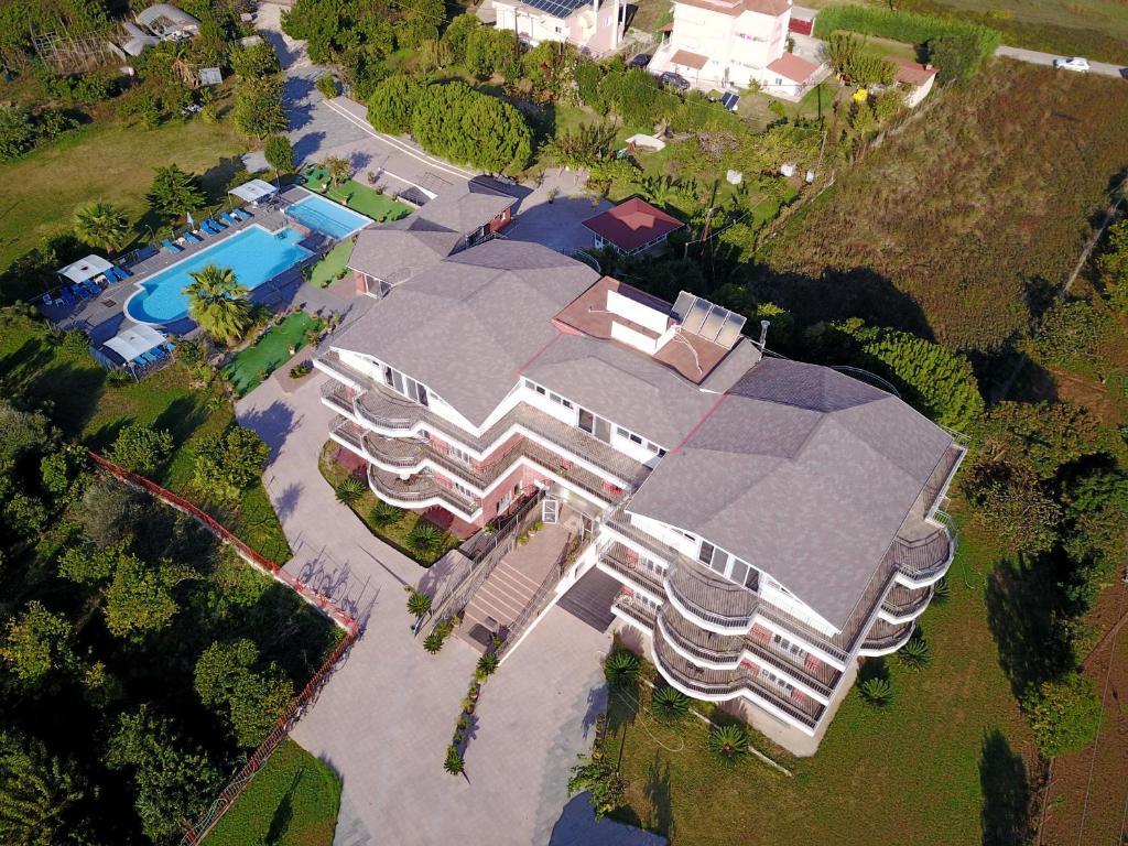 Ionion Star Hotel с высоты птичьего полета
