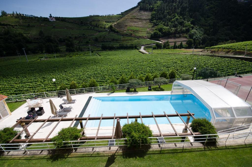 A view of the pool at Solar da Portela - Agroturismo or nearby