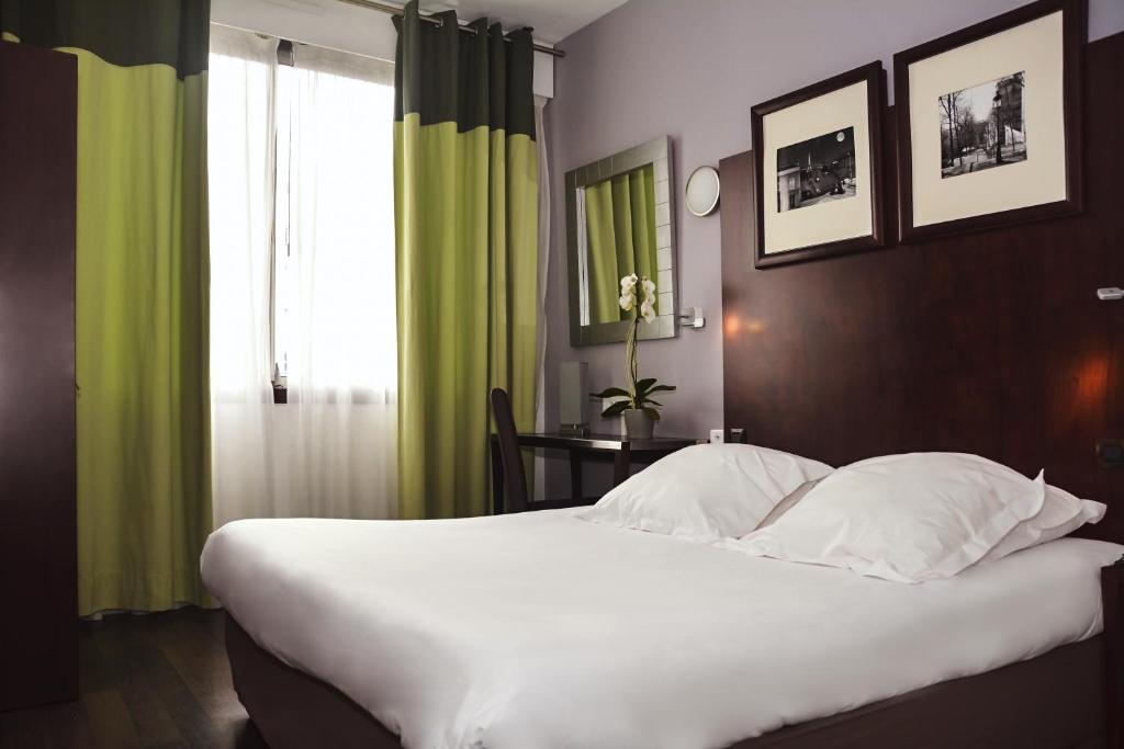 Un ou plusieurs lits dans un hébergement de l'établissement Sure Hotel by Best Western Annemasse (ex Hôtel de la Place)