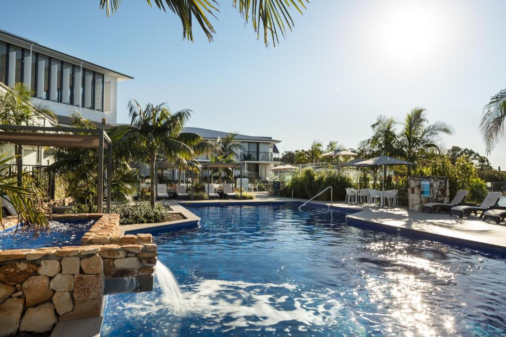 The swimming pool at or near Sails Port Macquarie by Rydges