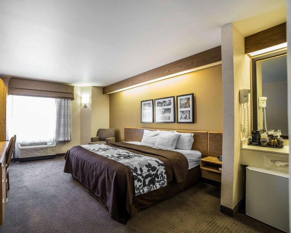 Letto o letti in una camera di Quality Inn Moab Slickrock Area