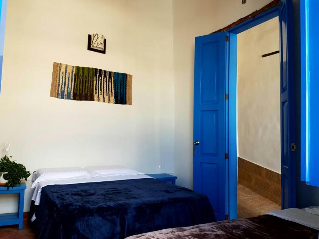 Un ou plusieurs lits dans un hébergement de l'établissement Meraki Boutique Hostel