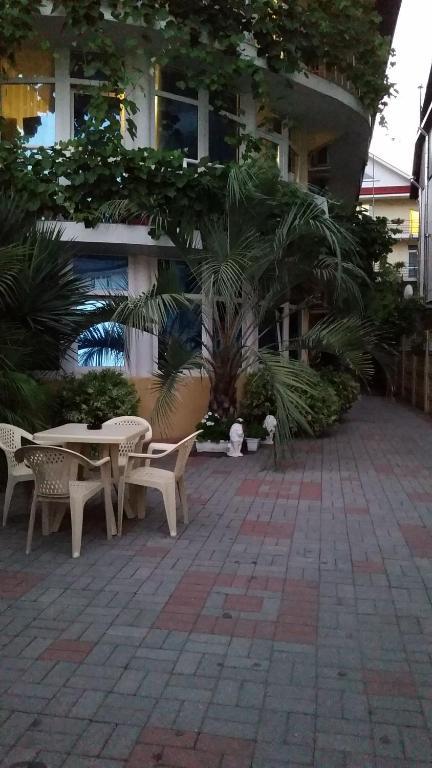 Вид на бассейн в Гостевой дом Оскар или окрестностях
