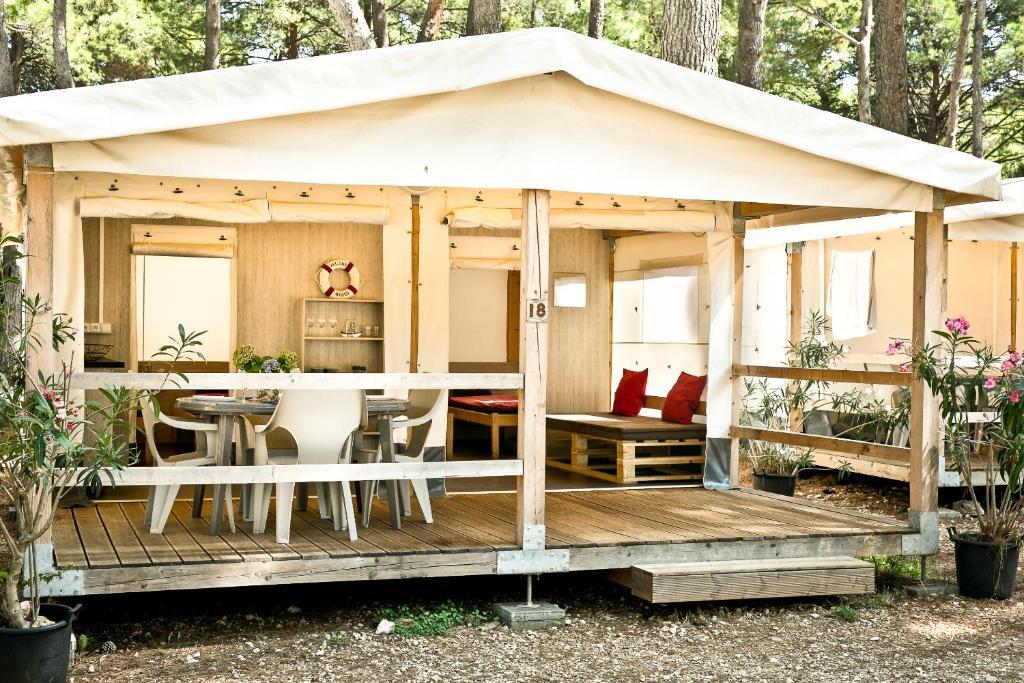 Glamping Tents | Losinj | Camp Cikat Mali Losinj, Croatia