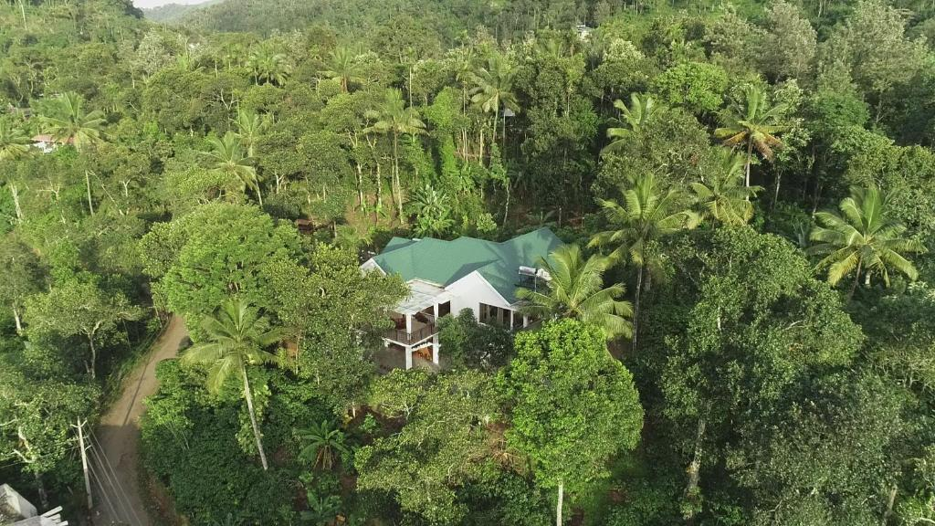 A bird's-eye view of Coffee and Pepper Plantation Homestay