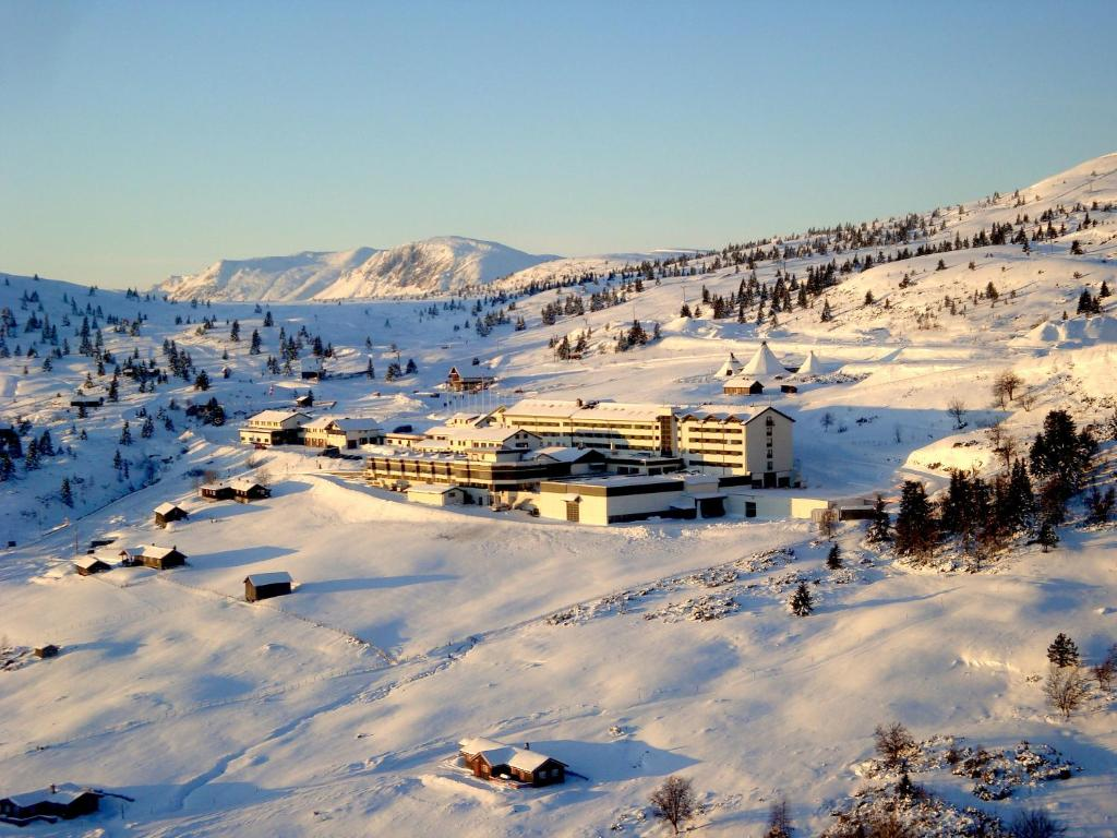 Storefjell Resort Hotel during the winter
