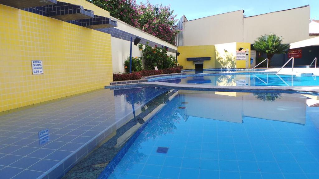 The swimming pool at or near Apartamento Thermas das Caldas Residencial
