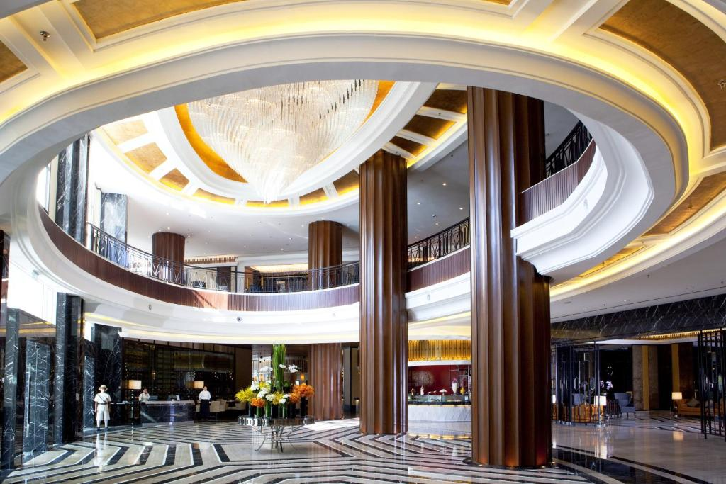 The lobby or reception area at The Majestic Hotel Kuala Lumpur, Autograph Collection