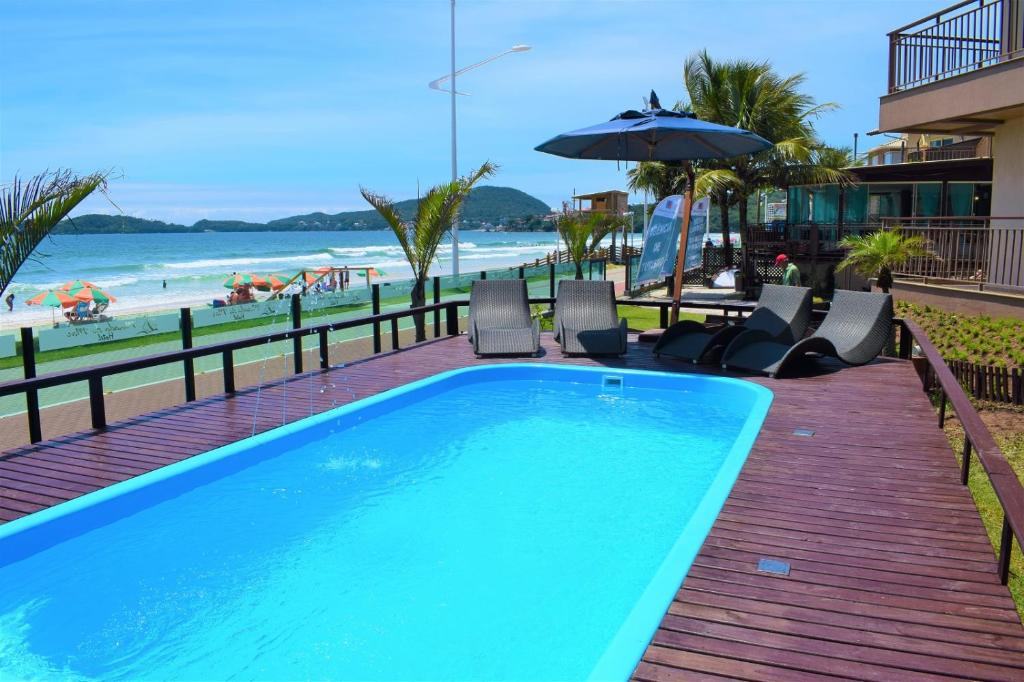 The swimming pool at or close to Morada do Mar Hotel