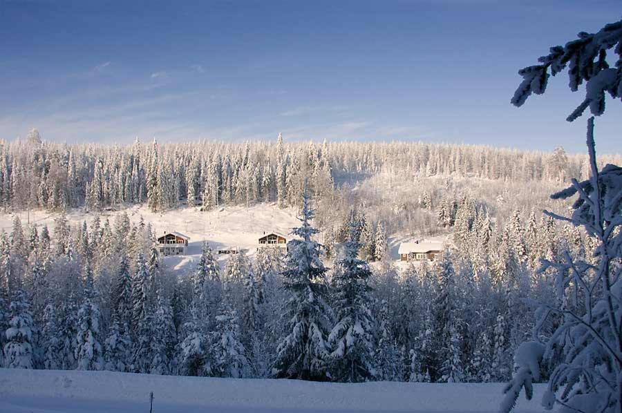 Karkutahko Villas under vintern