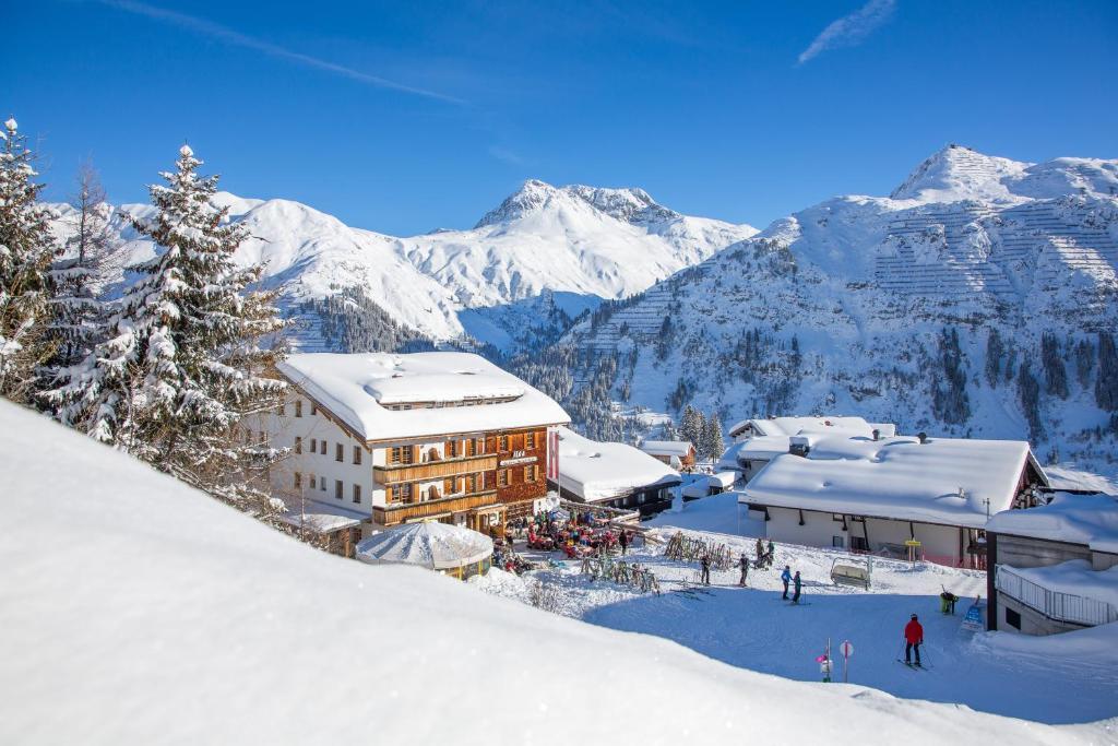 Hotel Ilga im Winter