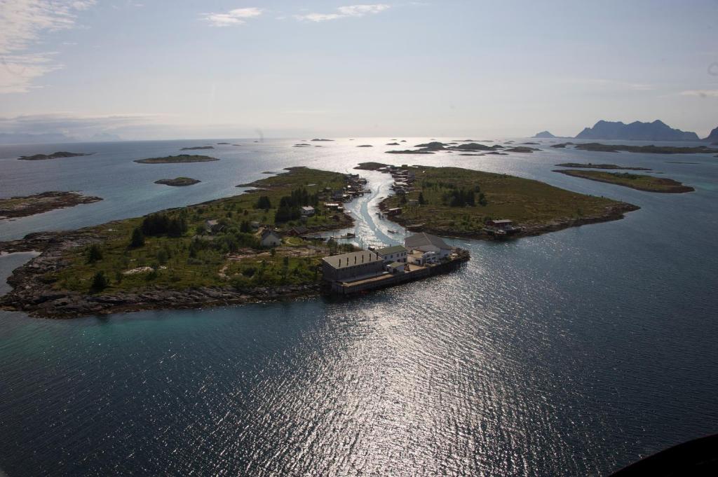 A bird's-eye view of RisværBrygger AS