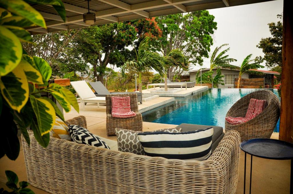 The swimming pool at or near La Maracuya Panama