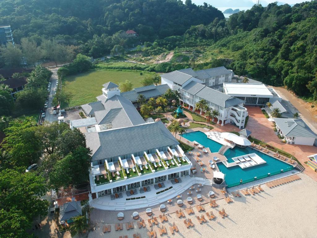 A bird's-eye view of Dash Resort Langkawi