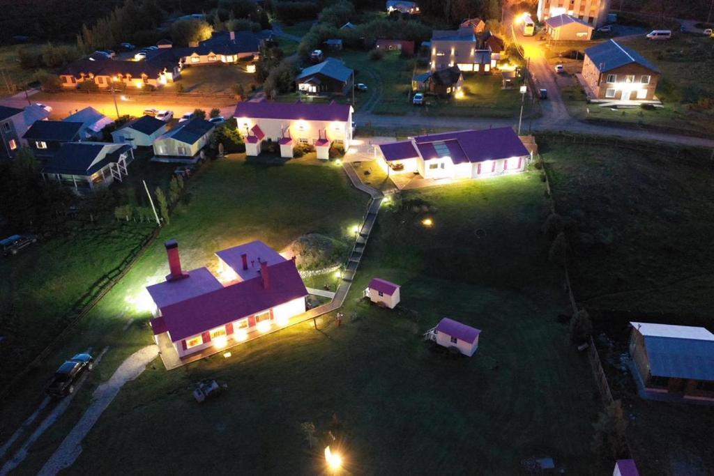 Una vista aérea de Lo de Tomy
