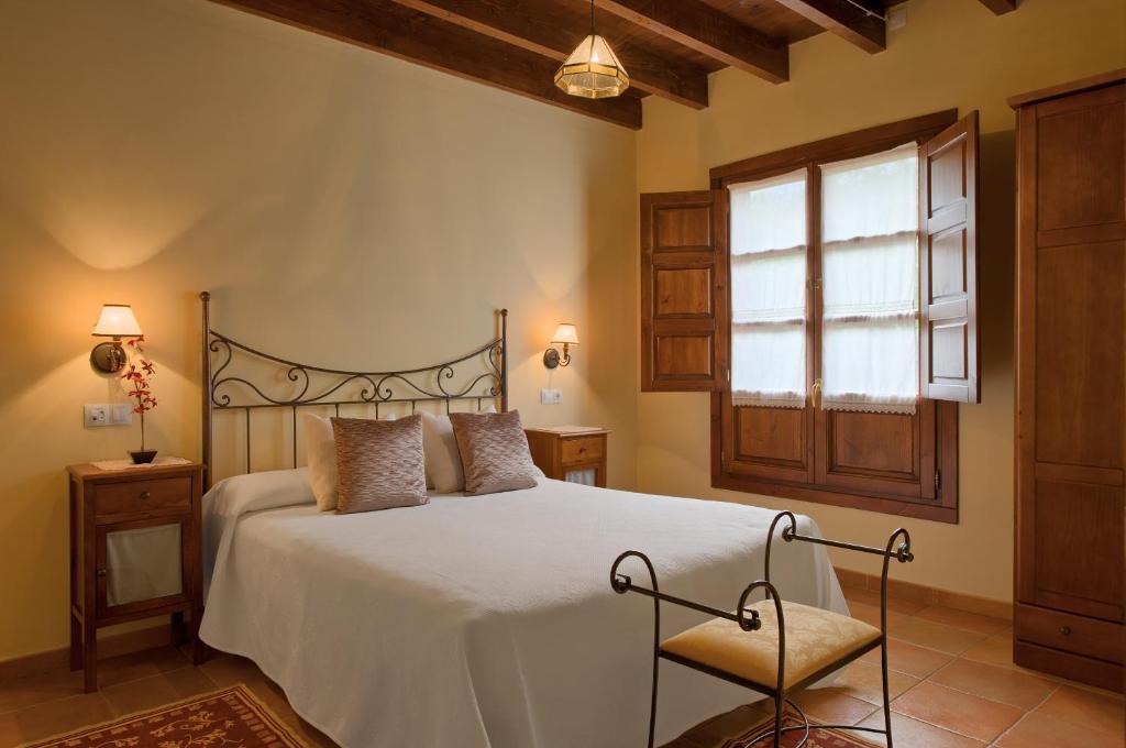 Cama o camas de una habitación en El Molín de Petra
