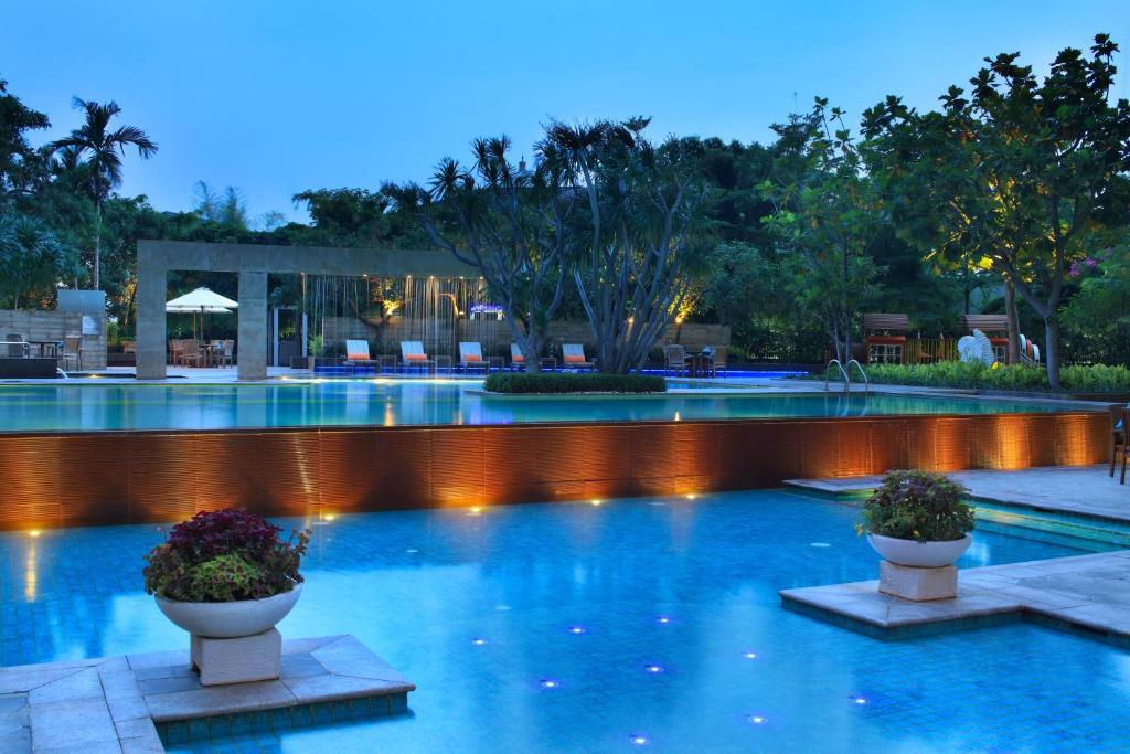 The swimming pool at or near Somerset Berlian Jakarta