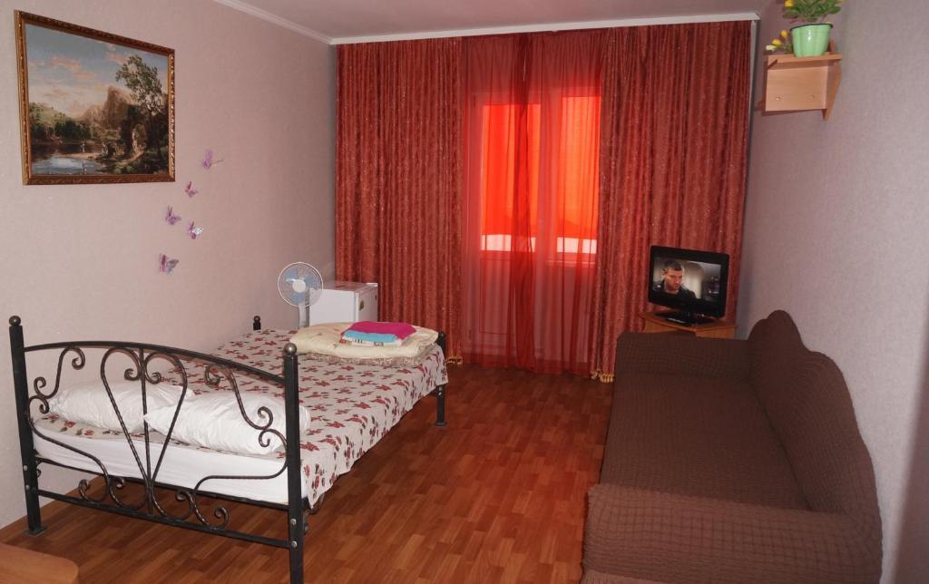 Кровать или кровати в номере Apartment Briz