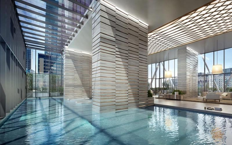 The swimming pool at or near Avant Garde Living in the Heart of the City