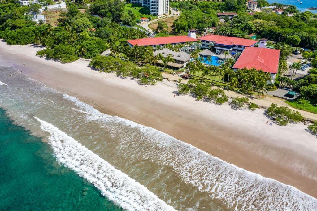 A bird's-eye view of Margaritaville Beach Resort Playa Flamingo