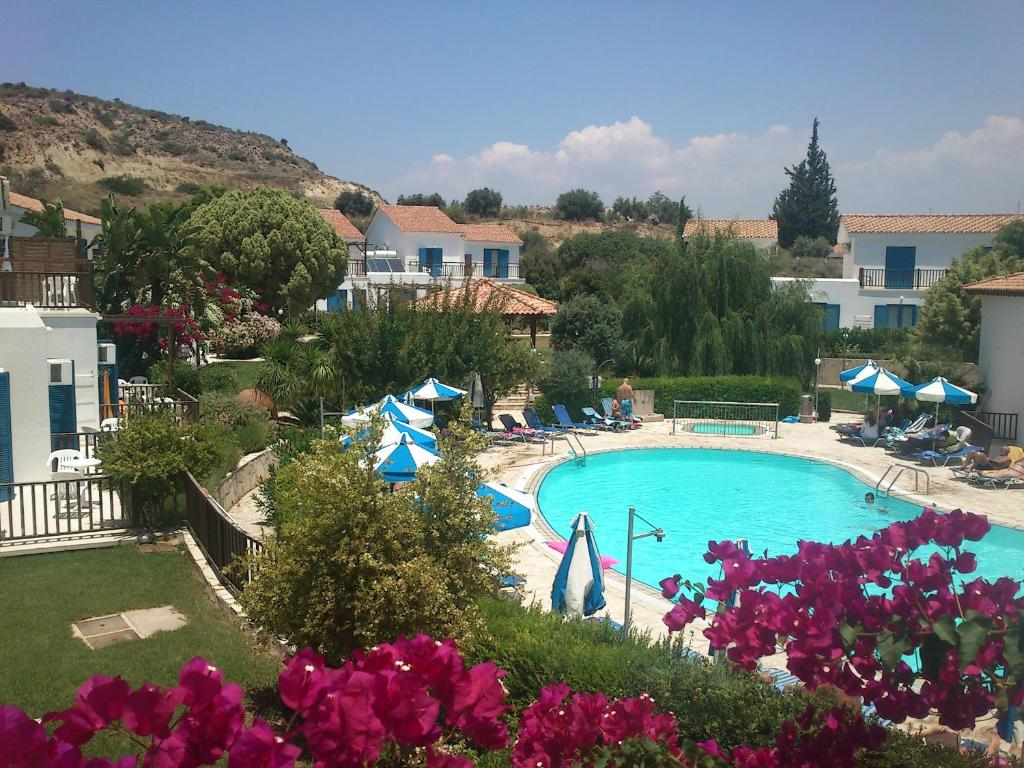 A view of the pool at Hylatio Tourist Village or nearby