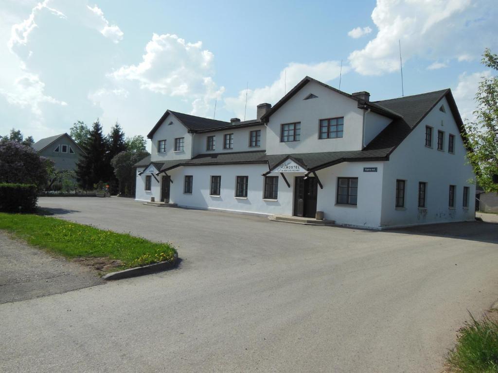 Hoone, kus hostel asub