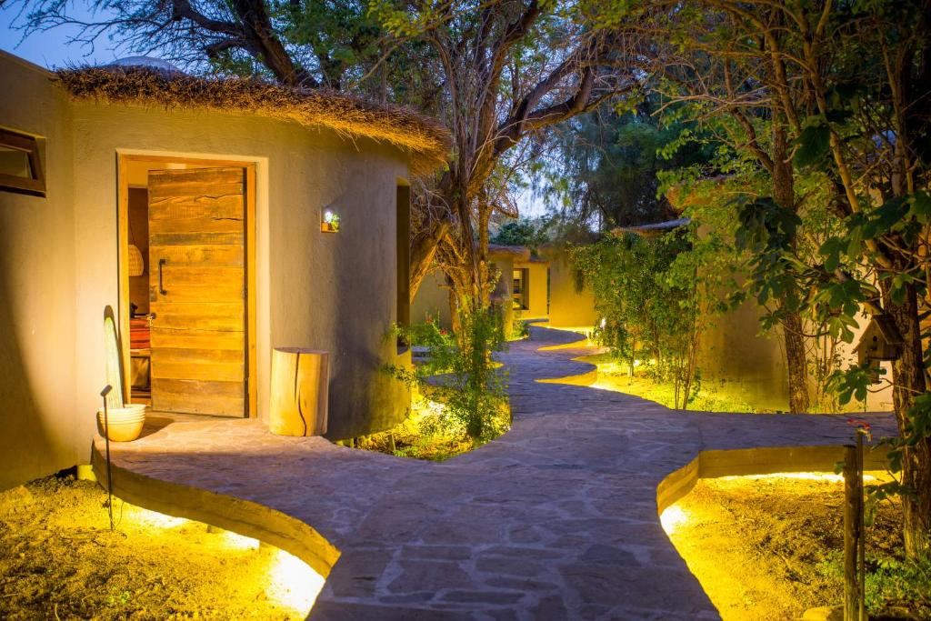 A garden outside Hotel Desertica
