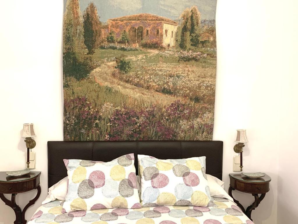 A bed or beds in a room at Apartamento Homelife Buenavista