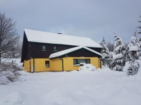 Ferienhaus Tooren im Winter