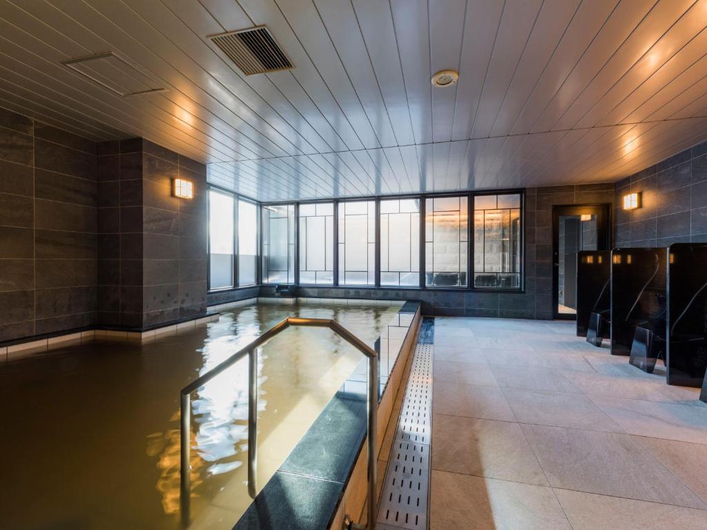 Kolam renang di atau di dekat Hotel Sonia Otaru