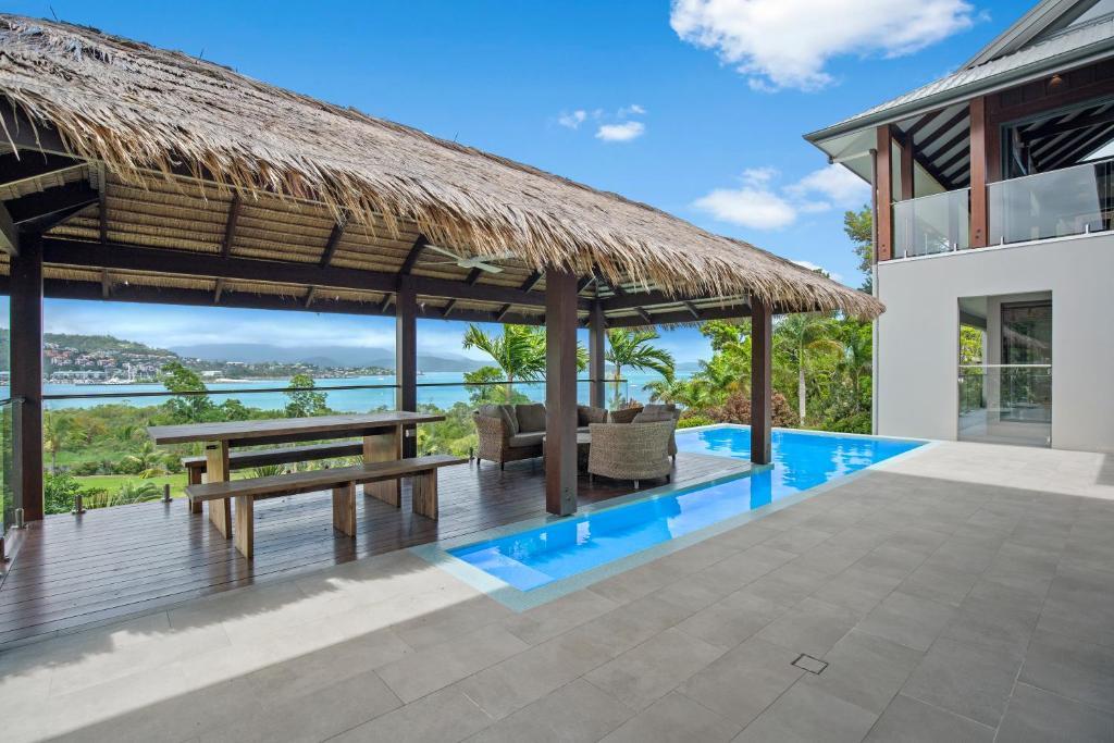 The swimming pool at or near Mandalay Luxury Retreat