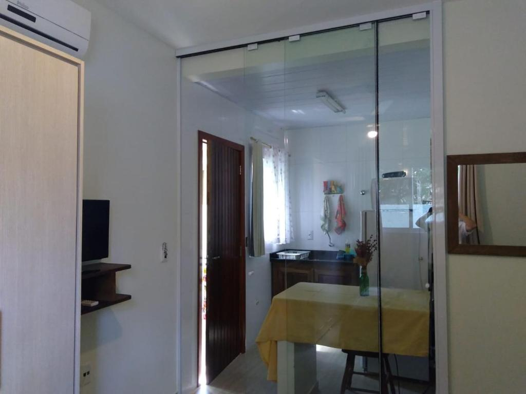A bathroom at Encantada Floripa 2