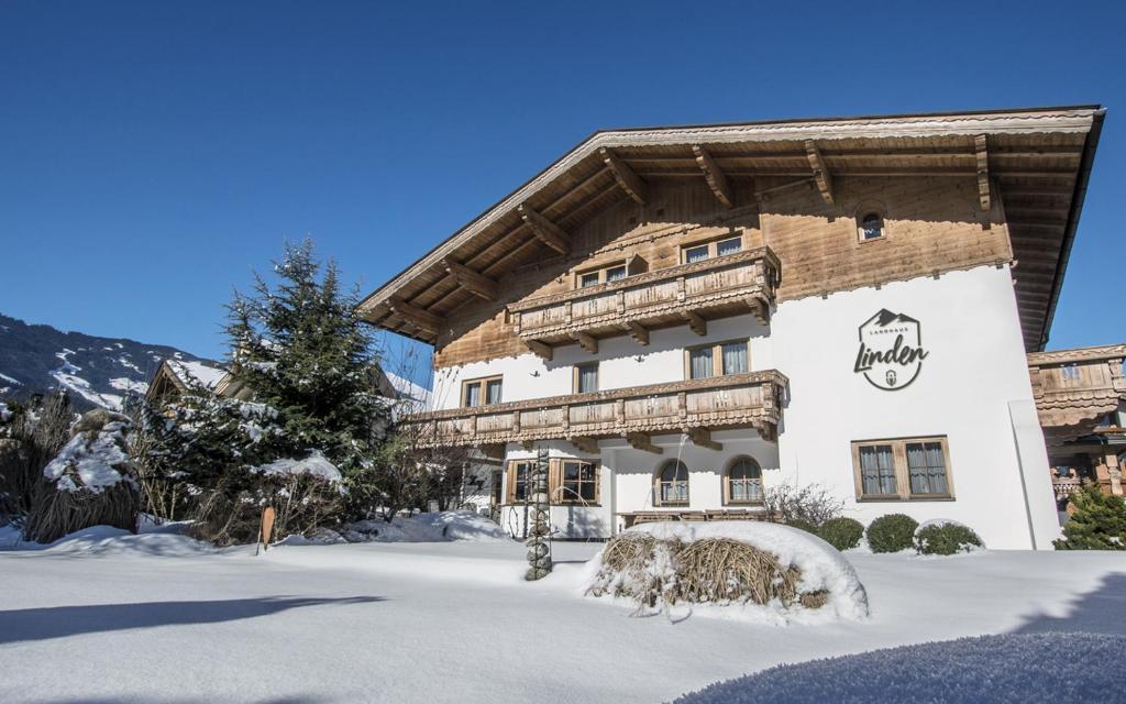 Landhaus Linden im Winter