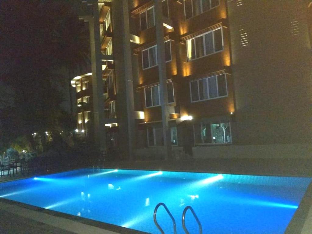 Swimmingpoolen hos eller tæt på Sinclairs Bayview