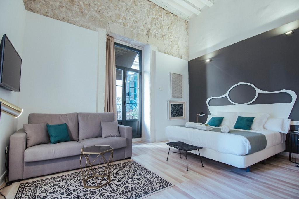 Zona de estar de Hotel Boutique Alicante Palacete S.XVII Adults Only